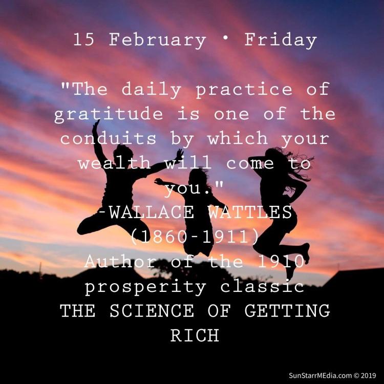 15 February • Friday •