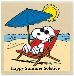 Snoopy Summer Solstice 2019