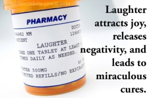 • 17 July • Wednesday • Laughter attracts joy, releases negativity, and leads to miraculous cures.