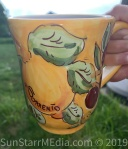 I got my favorite mug near my favorite spot on the last night in Sorrento! It is hand-painted!