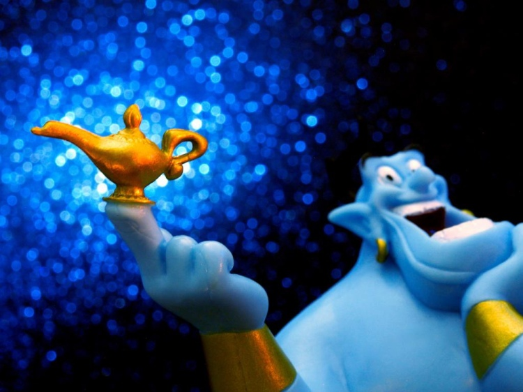 Like Aladdin's Genie, the law of attraction grants our every command.