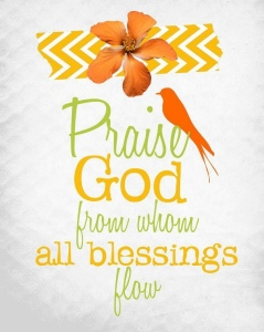 Praise and bless everything in your life! When you are praising or blessing you are on the highest frequency of love. In the Bible, the Hebrews used the act of blessing to bring forth health, wealth, and happiness. They knew the power of blessing. 👇🏽 How do you get your attention off the bills when you are trying to attract money? You pretend, you make believe, and you create games with those bills to trick your mind into thinking good thoughts. Get your mind so busy with make-believe games of what you want that there is no room for it to send you thoughts of lack. \n You are a creative being, so find the best creative way for you to turn your bills and bank statements into a make-believe game of abundance.