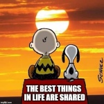 """""""I've always known that life is better when you share it. I now realize it gets even sweeter when you expand the circle."""" ~ Oprah"""